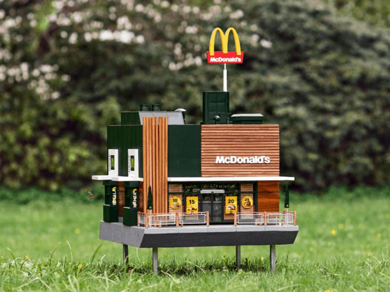McDonald's beehive