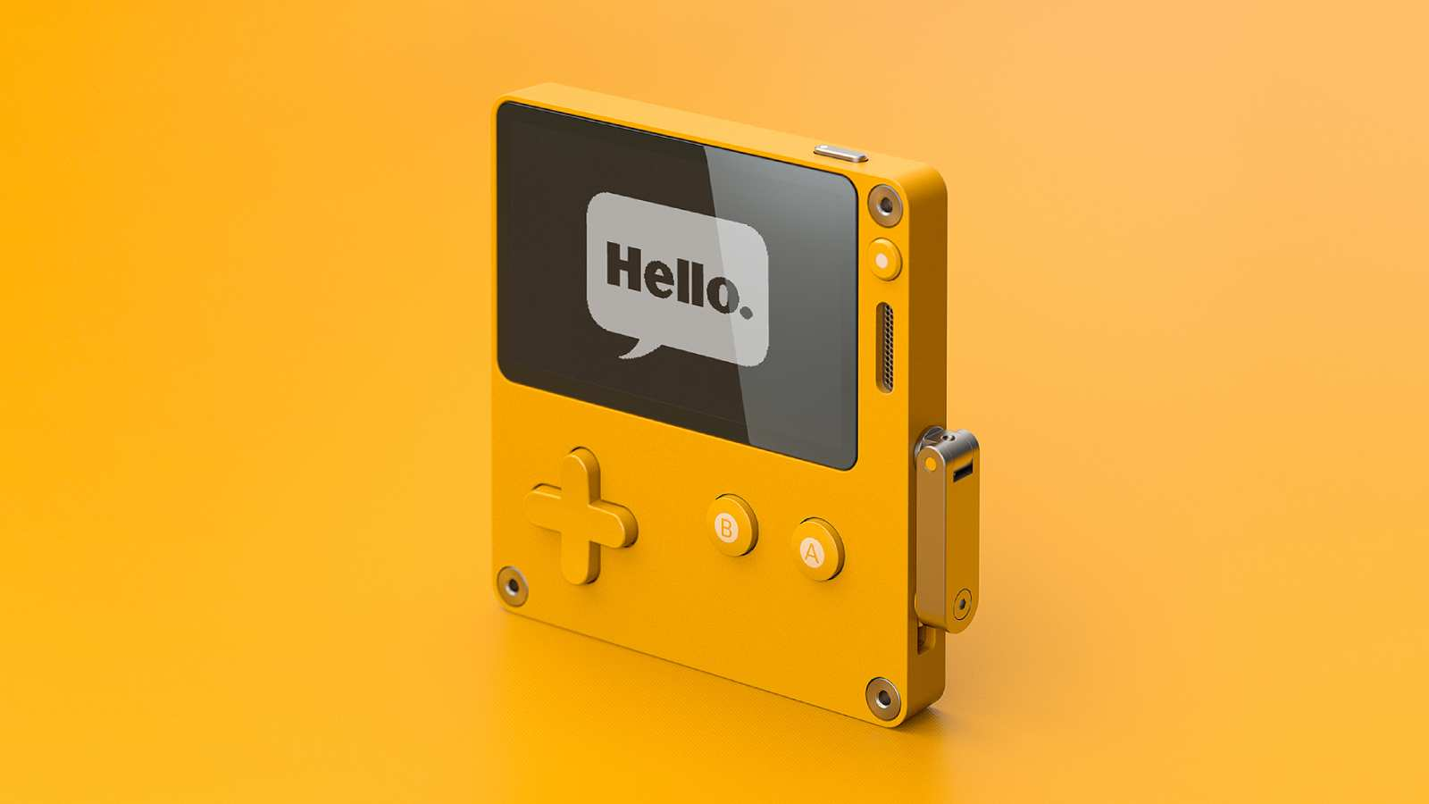 "Playdate is a retro handheld console and a ""celebration of the video game"""