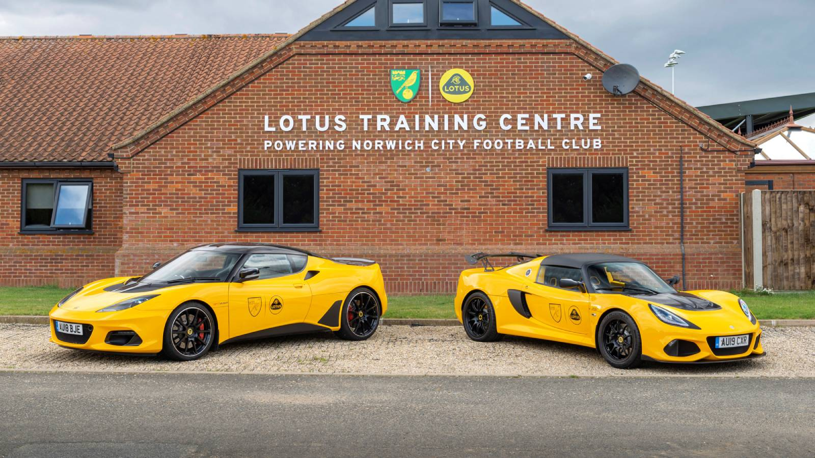 Lotus cars reveal new brand